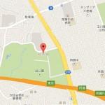 世田谷美術館地図