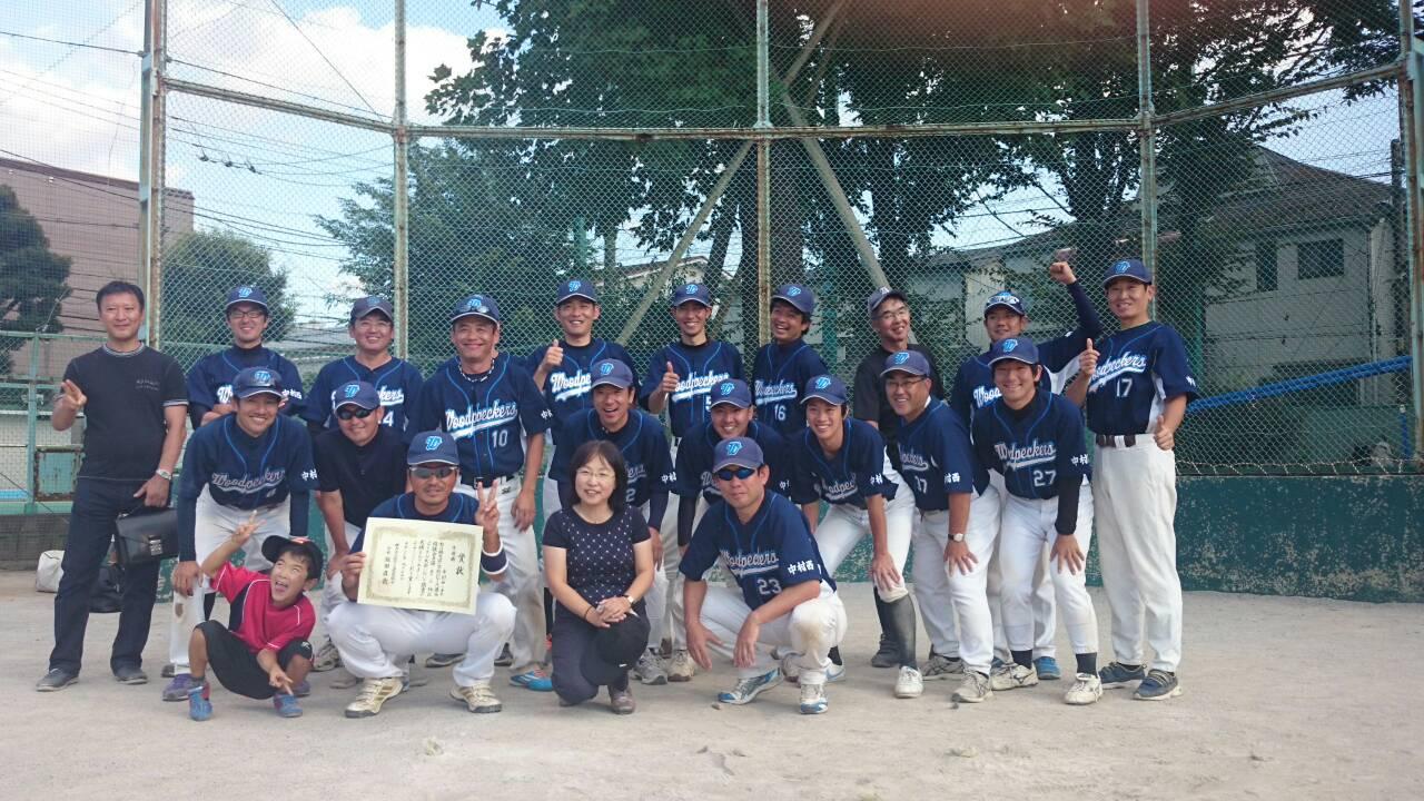 小学校PTA連盟(小P連)のソフトボール大会に参加 (^_^)