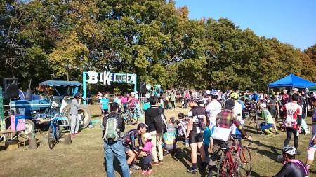 秋ヶ瀬公園で開催された自転車イベント「バイクロア4」に初参加してみました(*´ω`)p
