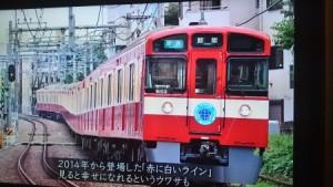 幸せの赤い列車