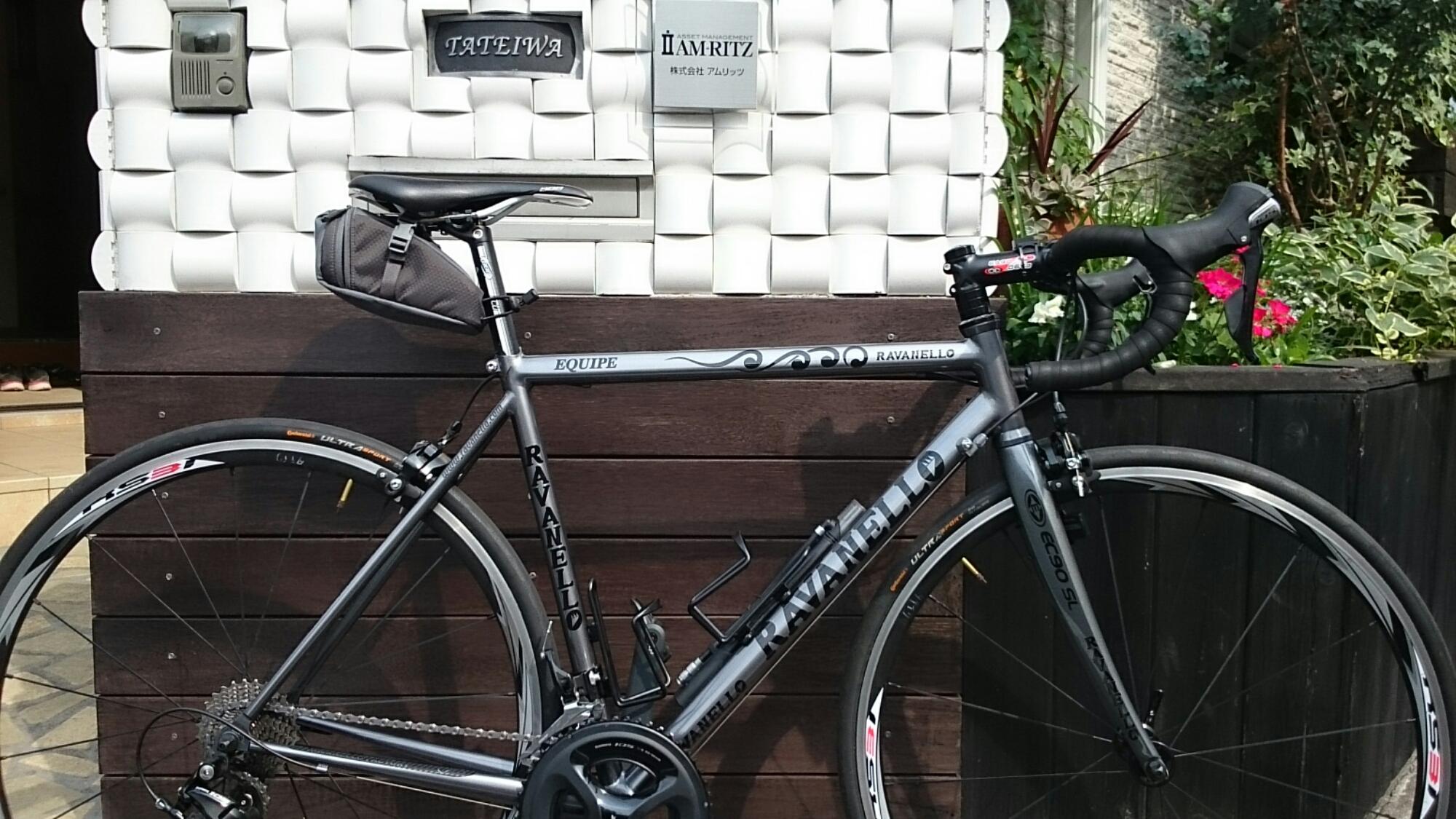 練馬区の名店「プロショップ高村製作所」ロードバイク:「EQUIPE SAT」