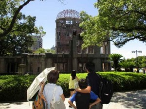初めての原爆ドーム