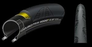 GrandPrix 4000 S II Bk-Bk skn fd 700x23C グランプリ4000S2