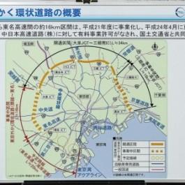外環道:関越道〜東名高速間、工事着手!