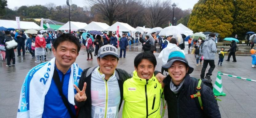 練馬こぶしハーフマラソン2017( ^_^)