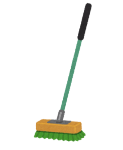 cleaning_deck_brush