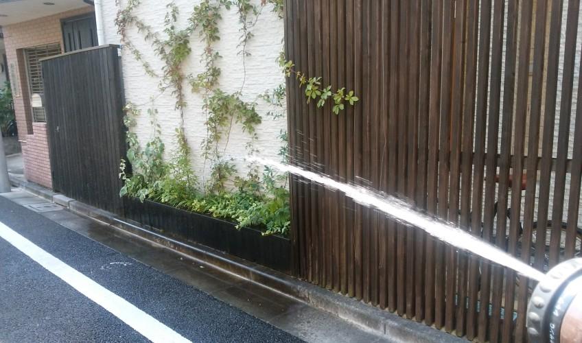 節水対策中ですが^^;