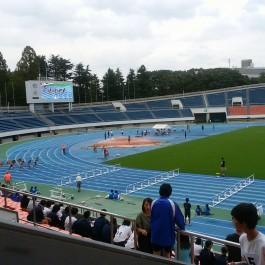 練馬区中学校対抗陸上競技大会(^^)v