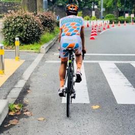 久しぶりのロードバイク(^O^)