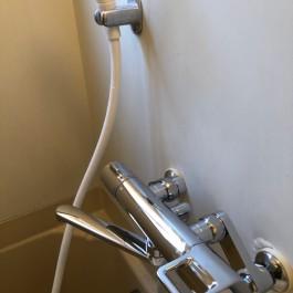 サーモスタット付き混合シャワー水栓へ