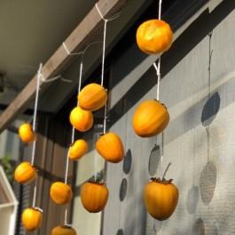 干し柿(^^)