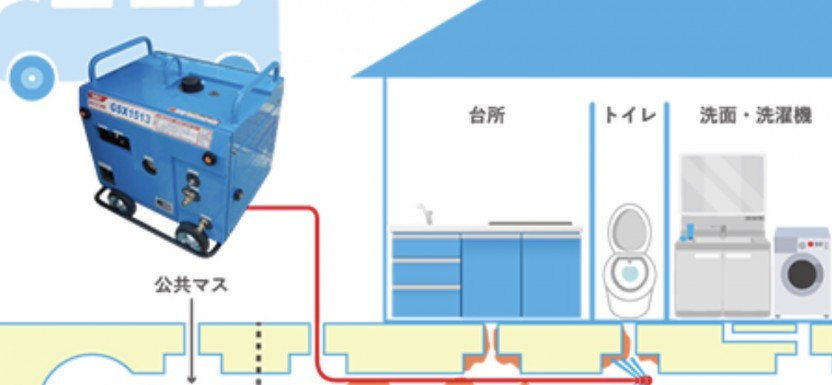 キッチンの排水口清掃(^^)