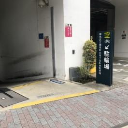 練馬駅の地下駐輪場を初利用^_^
